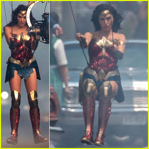 Gal Gadot Goes Airborne for 'Wonder Woman 1984' Stunt!
