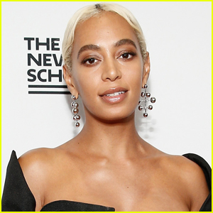 Solange Spends the Day  Filming Secret Project in Houston!