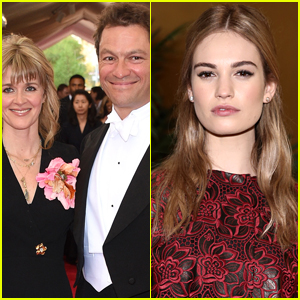 Dominic West & Wife Release Joint Statement After Lily James PDA Pics & Fans Are Shocked